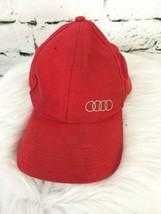 US Olympics Boys One Sz Hat Red Adjustable Classic Baseball Cap - $14.84