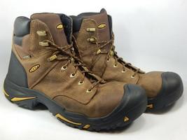 """Keen Mt. Vernon 6"""" Size US 15 M (D) EU 48 Men's WP Soft Toe Work Boots 1014600"""