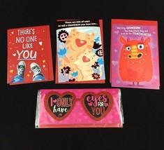 Valentines Day Cards Lot of 4 NEW Various - Grandson Love Hallmark Voila - $5.45