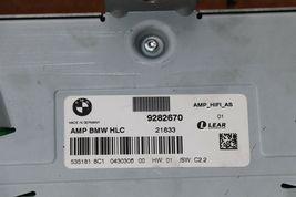 Bmw F30 Hifi System Audio Radio Stereo Speaker HLC Amplifier 9282670 image 5