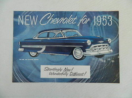 New Chevrolet for 1953 – The Bel Air 2-Door Sedan Car Brochere - $27.99