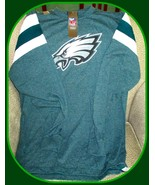 Philadelphia Eagles NFL Team Apparel Men's Green T-Shirt-Medium - $32.62