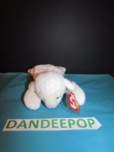 TY Retired Beanie Baby Fleece White Lamb 1996 with tags Ty - $13.85