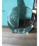 Tiffany Slant-Cut Disc Award - $49.50