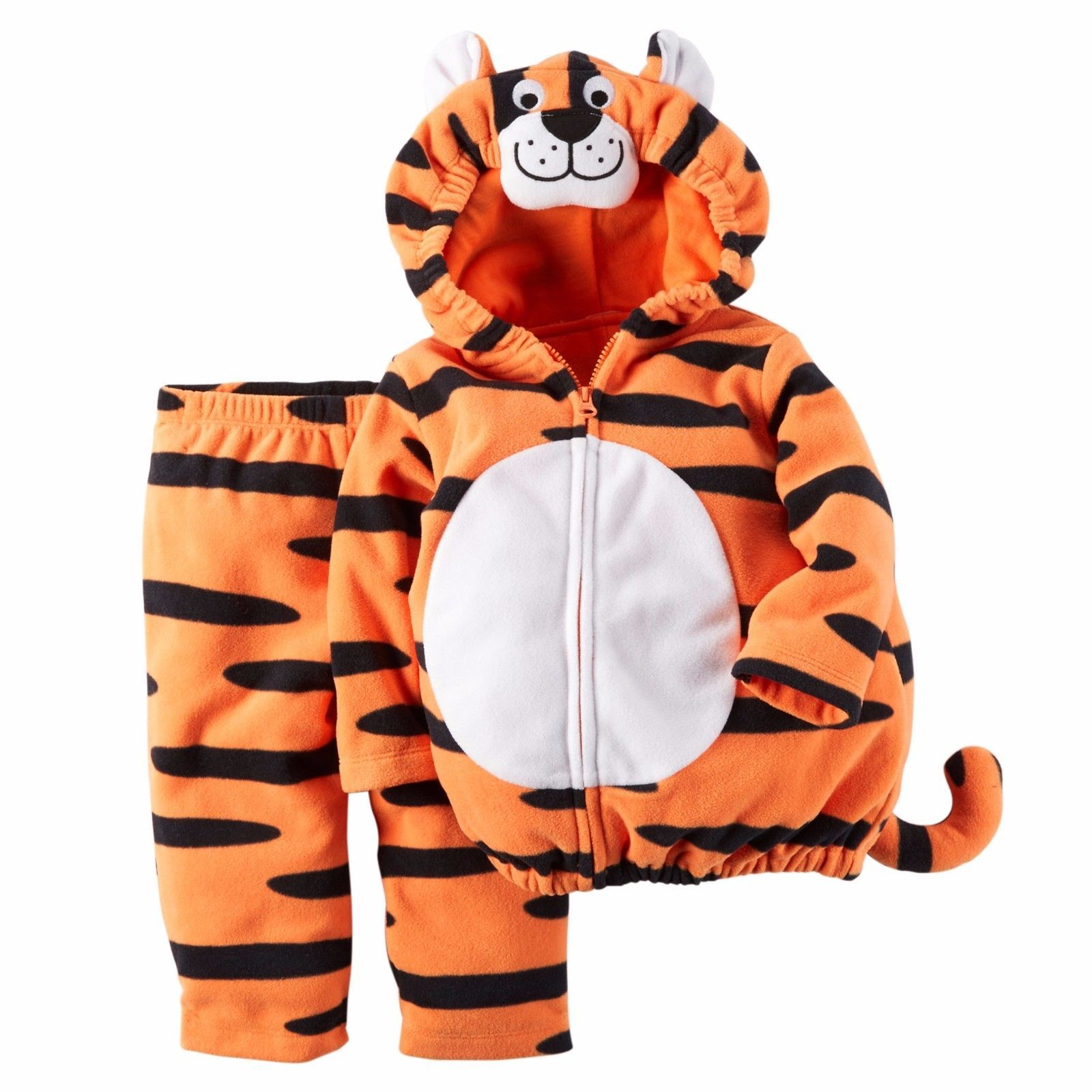 NEW NWT Boys Carter's Halloween Tiger Costume 12 18 or 24 Months 2 Piece