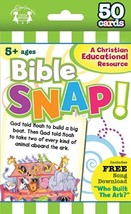 Bible Snap Christian 50-Count Game Cards I'm Learning the Bible Flash Cards - $5.06