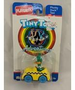 Playskool Plucky Duck Taxi Diecast Car Vehicle Tiny Toon Adventures 1990 - $8.96