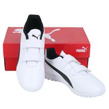 Puma Jr. Monarch TT V Football Boots Youth Soccer Cleats White 10572802 - $56.99
