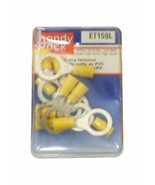 "Pack of (10) Handy Pack ET159L PVC Anello Terminal 12-10 Gauge 1/2"" Stud - £12.39 GBP"