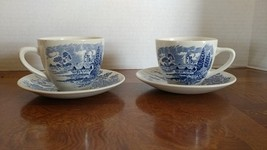 Wedgwood Enoch Countryside Cup and Saucer  set of 2 cups and 2 saucers! - $17.65
