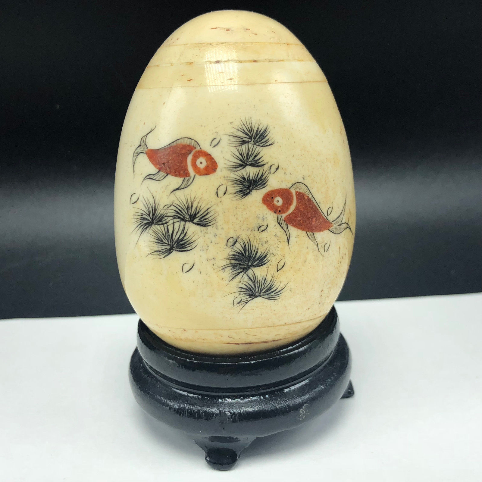 Collectible Marble Glaze Egg Figurine Statue and 50 similar