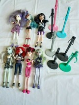 Monster High Doll Lot (7) Frankie Stein Spectra Vondergheist Ghoulia Yel... - $43.95