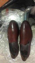 Burnished Maroon Tone Classical Genuine Leather Moccasin Loafer Men Casual Shoes image 1