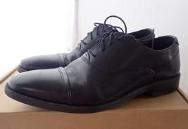 Steve Madden Men's Finnch Oxford, Black Leather, 7.5 M US - $25.65