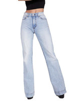Women's Revice Light Denim Venus Flare Comet 27 Casual Jeans