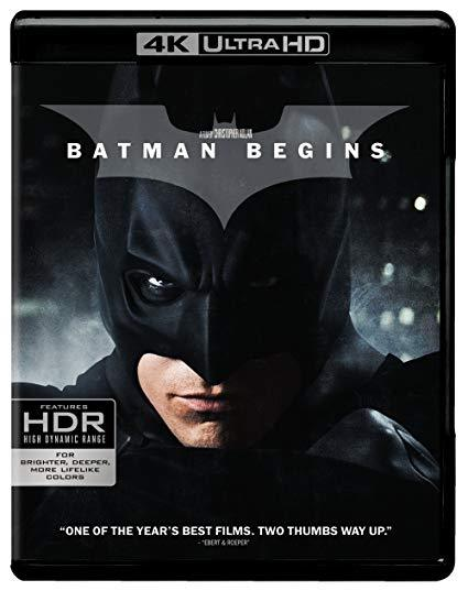 Batman Begins (4K Ultra HD+Blu-ray)