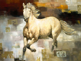 Wind Dancer by Bill Davies Horses Canvas Giclee - $167.31
