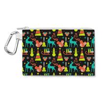 Disney Black Christmas Canvas Zip Pouch - $15.99+