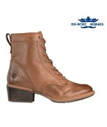 TIMBERLAND WOMEN'S SUTHERLIN BAY MID LACE UP MD BROWN FULL GRAIN A1SD3 - $109.99