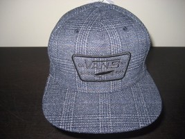 c361f18ca84 Vans Mens Starter Full Patch Star Snapback Hat Cap Blue Plaid Free Ship NWT  -  19.78