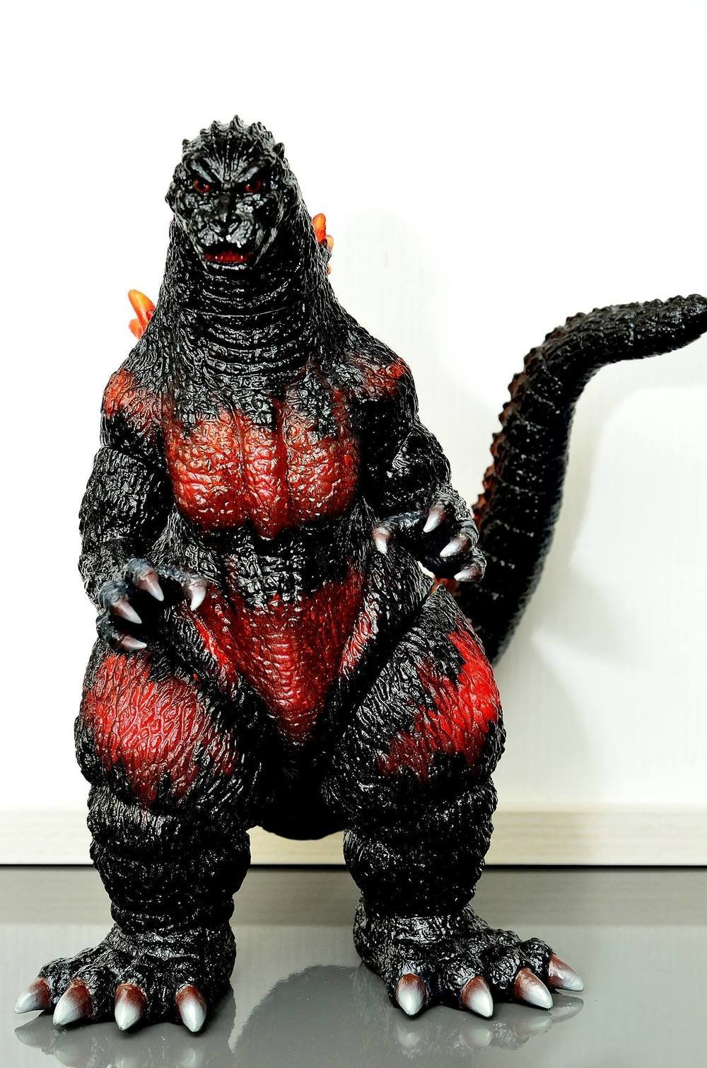 Vampire Robots Exclusive Burning Godzilla
