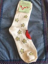 Ladies And Girls Crew Socks Size 9 To 11 Stars - $3.63