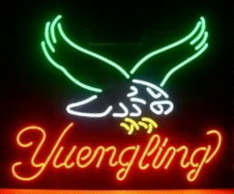Yuengling Beer Neon Light Sign Handcrafted Real Glass Neon Sign - $124.95+