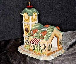 Old World Village #4The Clocktower AA18-1373 Vintage image 4