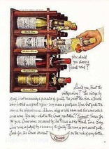 Cruse Wine Bottle Labels Photo Illustration Ad 1965 Choosing a French Wine - $14.99