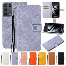 For Samsung S21/Note 20/S20 FE/A01/A21s/A71 Leather Wallet Magnetic Flip cover - $55.00