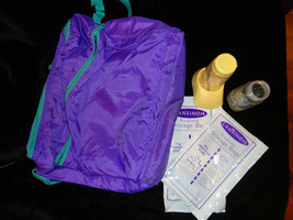 BREAST FEEDING SUPPLIES TRAVEL COOLER BAG STORAGE BOTTLES AND BAGS - $5.00