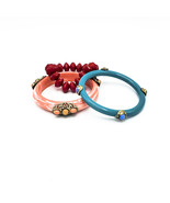 Set of Three  Bangle Stretch Bracelets - $20.00