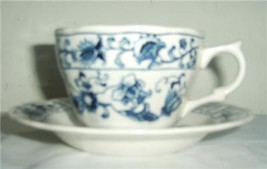 "1979- NIKKO Cup & Saucer Set ""Ming Tree Blue"" Porcelain Collectible Chin... - $18.99"