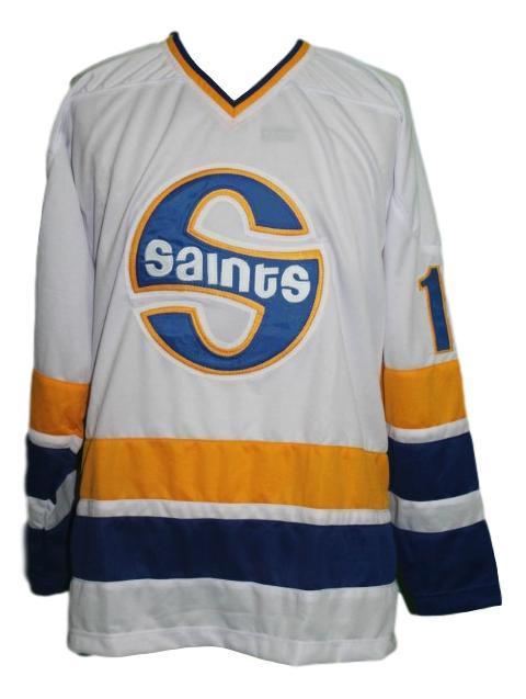 Minnesota fighting saints hockey jersey antonovich white   1