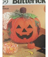 Butterick 6299 Fall Pumpkin Centerpiece Halloween Bat Placemats Wall Art... - $12.00