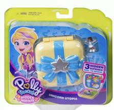 Polly Pockets Hidden Hideouts Unicorn Utopia With 3 Hidden Surprises! - $18.80