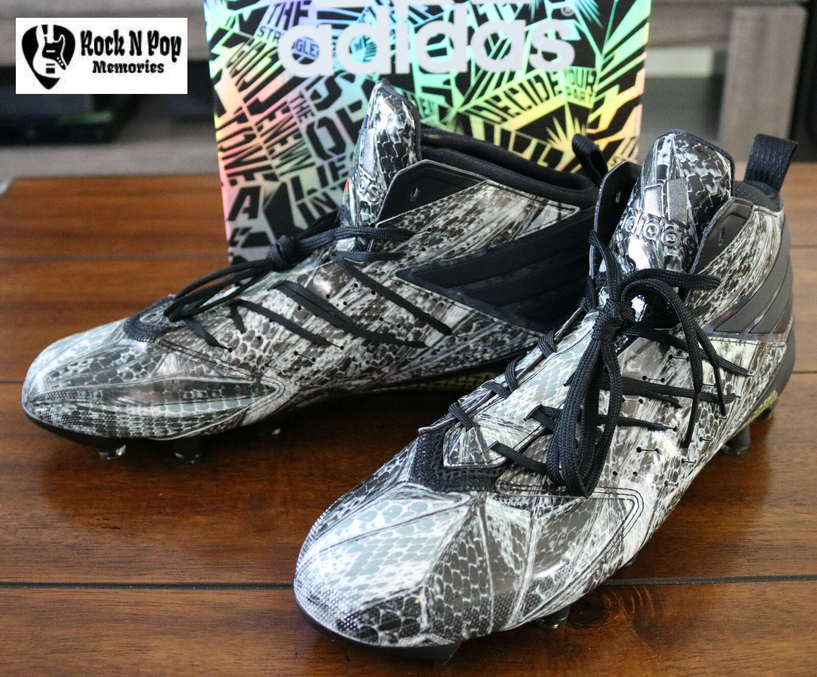 Primary image for Adidas Men's Football Shoes Freak x Kevlar Cleats Men AQ6849 Size 11 Snake