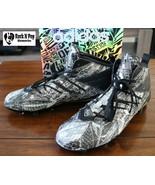 Adidas Men's Football Shoes Freak x Kevlar Cleats Men AQ6849 Size 11 Snake - $55.01