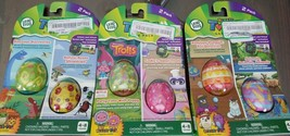 LeapFrog RockIt Twist Game Packs - 6 Game Bundle, 3 2pcks - Trolls, Dino... - $14.01