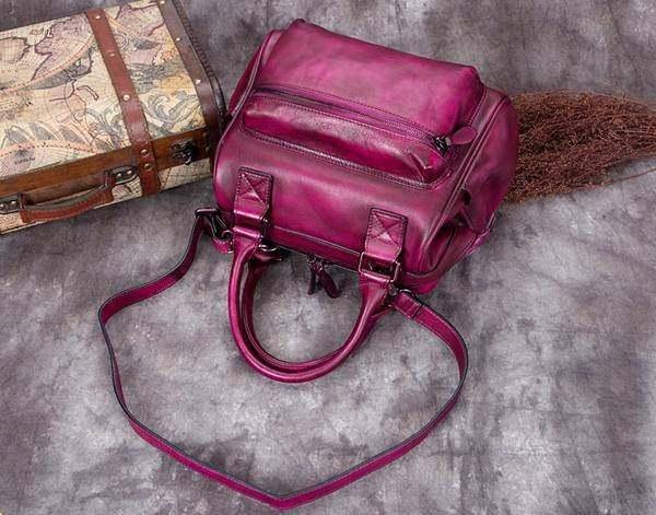 Sale, Fashion Full Grain Leather Messenger Bag, Shoulder Bag, Satchel Bag, Leath image 6