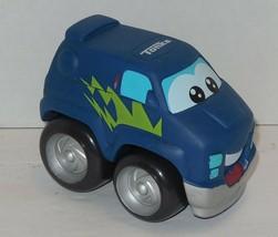 Tonka Chuck & Friends Trucks Soft Plastic chunky Blue Van - $9.50