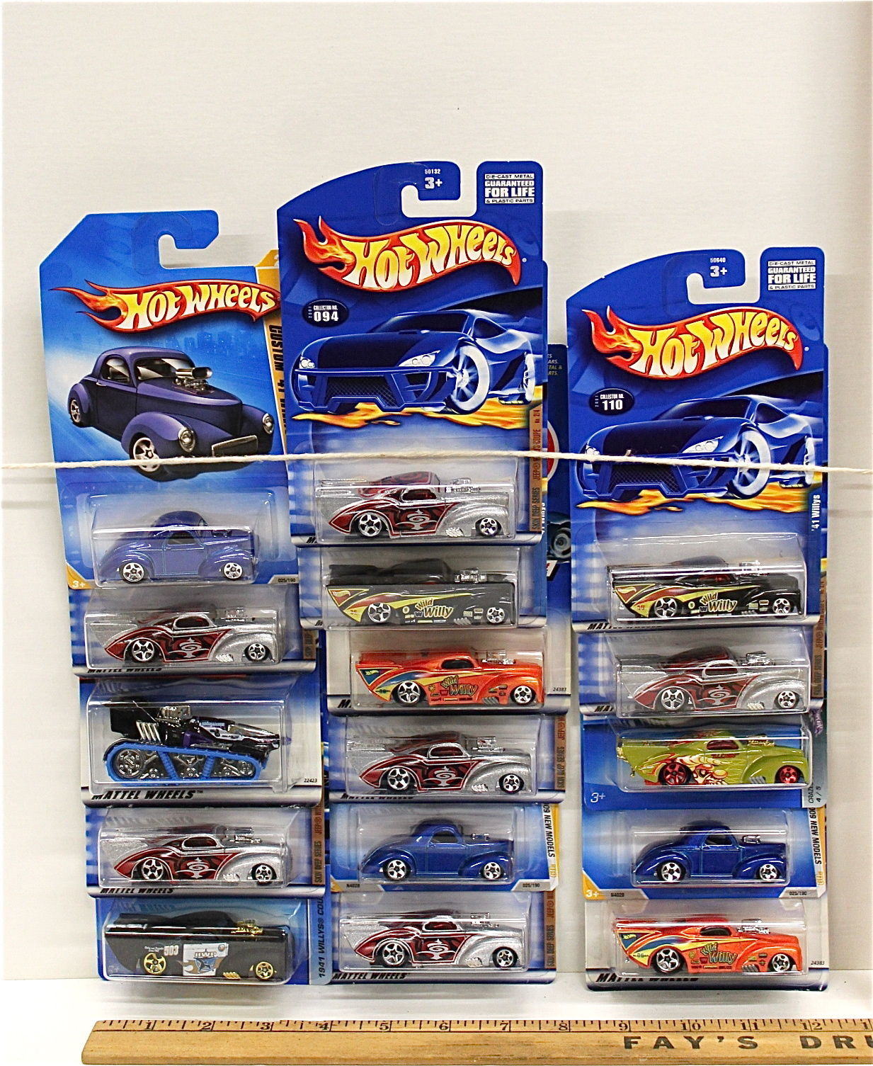 16 Hot Wheels Vintage 1941 Willys Coupe and 50 similar items