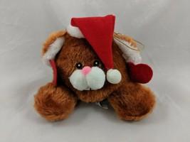 "Brown Mouse Plush Christmas Hanging 5"" Mty International Stuffed Animal toy - $10.95"