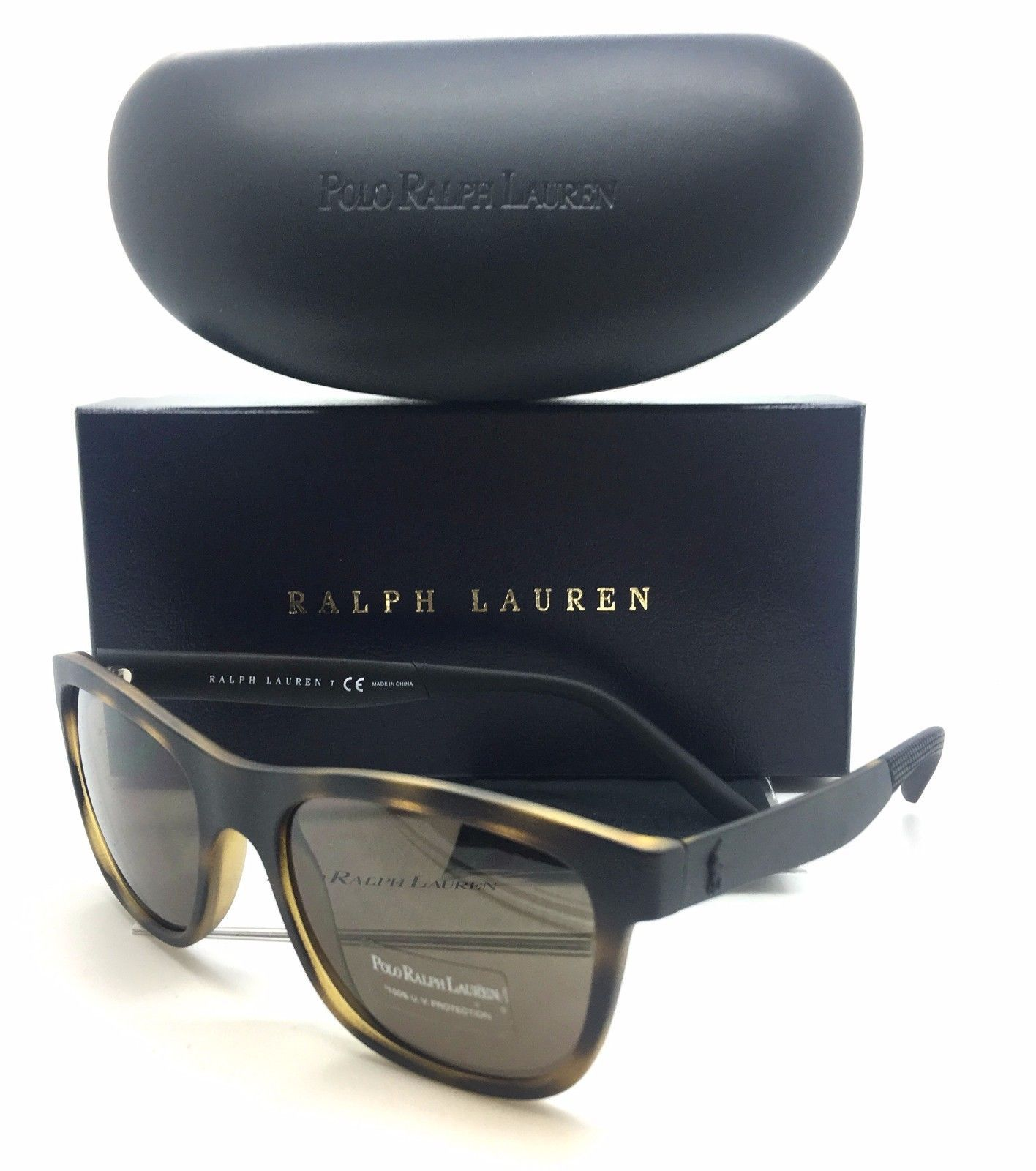 7e4e6aa702 Ralph Lauren Matte Dark Havana Brown Lens and 50 similar items