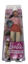 Mattel Barbie DOLL Career Pasta Chef Doll 12 in. Brunette Chef Hat Cooki... - $24.99