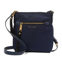 NWT Marc Jacobs Trooper Nylon Swingpack Crossbody bag MIDNIGHT BLUE AUTH... - $138.00