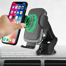 Cellet QI Wireless Fast Charge Phone Mount Dashboard Air Vent for iPhone Note 10 image 2