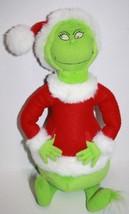 "Hallmark Plush 17"" HOW THE GRINCH STOLE CHRISTMAS Hand Pockets Soft Toy ... - $26.09"