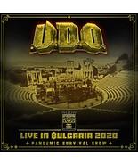 U.D.O. CD - LIVE IN BULGARIA 2020: PANDEMIC SURVIVAL SHOW [2CD/DVD] - NEW  - $22.99