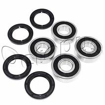 Compatible for Honda TRX450R ATV Bearings & Seals Kit both sides Front W... - $18.32